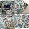 Fred Perry / liberty live print collaboration Paisley short sleeve shirt