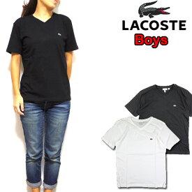 ラコステ LACOSTE キッズ Tシャツ TJ1788 BOYS V-NECK T ボーイズ ロゴ
