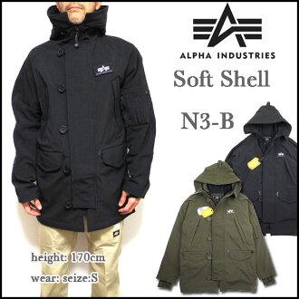 Alpha INDUSTRIES ALPHA military jacket N-3B JACKET SOFT SHELL jacket