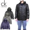 カルバンクライン ダウンジャケット メンズ 中綿 Calvin Klein アウター Puffer Hooded Jacket CM053765