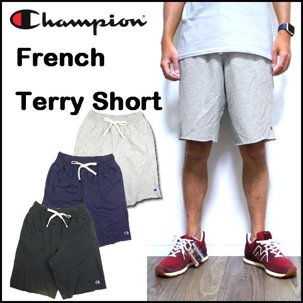 チャンピオン Champion ハーフパンツ メンズ スウェット USA FRENCH TERRY SHORT 81076