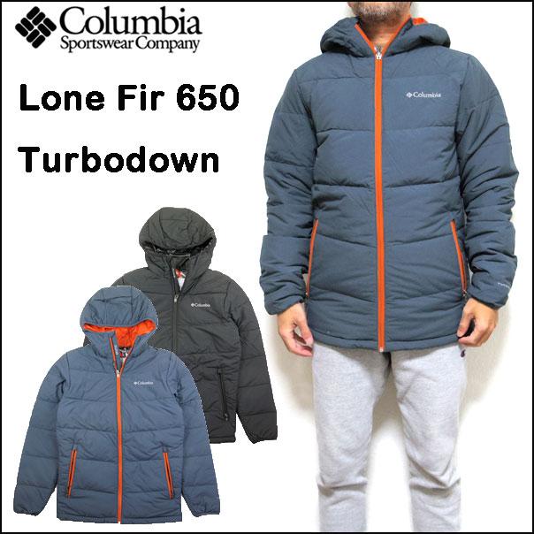 コロンビア COLUMBIA ダウンジャケット メンズ Lone Fir 650 Turbo Down Hooded Jacket 17秋冬新作 S-XL