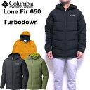 コロンビア COLUMBIA ダウンジャケット メンズ Lone Fir 650 Turbo Down Hooded Jacket アウター 19新作 S M L XL