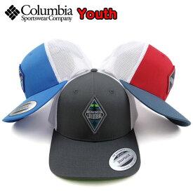 コロンビア キッズ COLUMBIA 帽子 メッシュキャップ Snap Back Cap 19新作 男の子 女の子