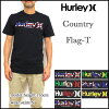 HURLEY / Harley/t shirt mens /ONE ONLY COUNTRY FLAG / teaches / country / flag / flags /PREMIUM-FIT