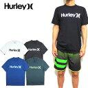 ハーレー ラッシュガード メンズ HURLEY 水着 半袖 ONE&0NLY SURF SHIRT Tシャツ サーフT 894630