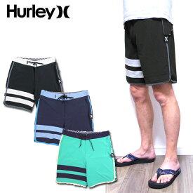 ハーレー 水着 メンズ HURLEY サーフパンツ BLOCK PARTY SOLID BOARD SHORT ブロックパーティー AQ9986 18インチ PHANTOM