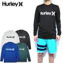 ハーレー ラッシュガード メンズ HURLEY 水着 長袖 ONE&0NLY SURF SHIRT Tシャツ サーフT 894629 19新作