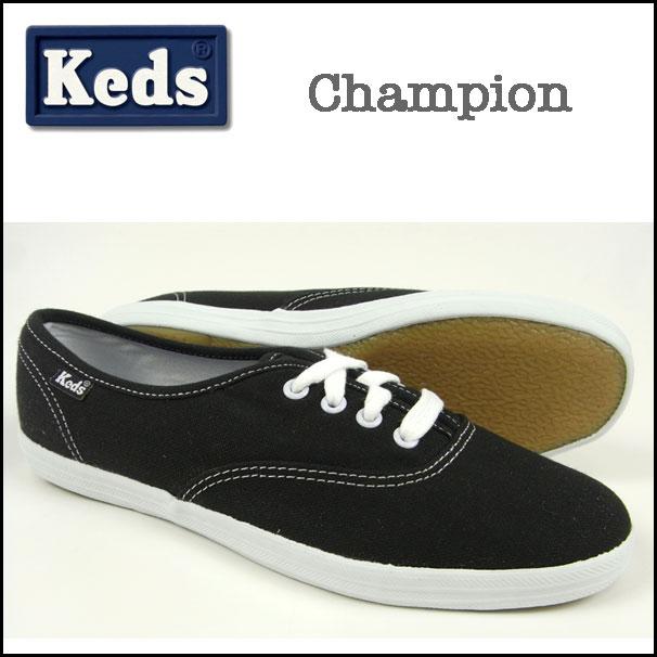 KEDS/ケッズ/スニーカー/レディース/Champion Oxford/ブラック(黒)/チャンピオン オックスフォード キャンバス/シューズ/海外限定/WF34100【02P02jun13】 05P03Dec16