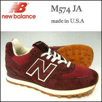NEW BALANCE/新平衡/运动鞋/M574 JA/marun/MADE IN USA/跑步/鞋