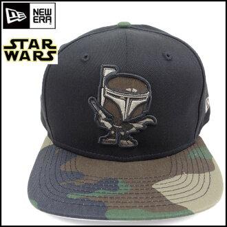 NEW ERA, new era / Cap / collaboration /STAR WARS/9 FIFTY / Star Wars / Boba Fett / Camo /HAPPIFURENZU