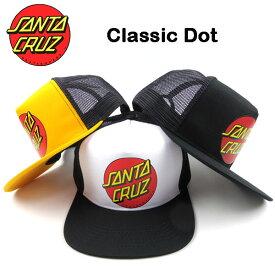 サンタクルーズ キャップ メンズ 帽子 SANTA CRUZ CLASSIC DOT クラシックドット