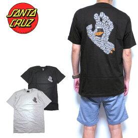 サンタクルーズ Tシャツ SANTA CRUZ 半袖 メンズ レター ハンド Letter Hand S M L XL