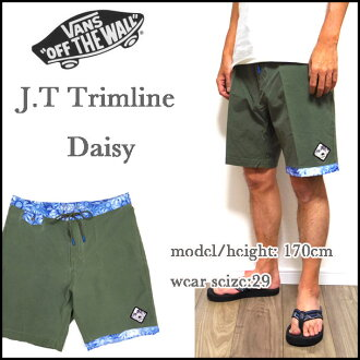 Mens /JT TRIMLINE BOARD SHORT / boardshorts / 18-inch sea bread / VANS / vans / swimsuit / surf pants