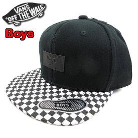 バンズ VANS キッズ キャップ 帽子 ALLOVER IT SNAPBACK CAP 19新作 男の子 スナップバック