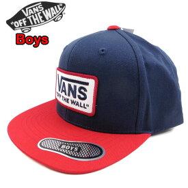 バンズ VANS キャップ キッズ 帽子 スナップバック WHITFORD SNAPBACK CAP 男の子 19新作