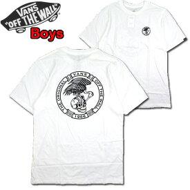 バンズ VANS キッズ Tシャツ BOYS MIDLIFE TEE ジュニア ティーシャツ 男の子 120 130 140 150 160 170cm