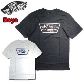 バンズ VANS キッズ Tシャツ ボーイズ BOYS FULL PATCH FILL TEE 19新作 ロゴ 半袖