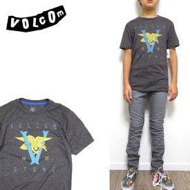 VOLCOM ボルコム キッズ Tシャツ V GULL TEE ボーイズ ジュニア ロゴ 半袖