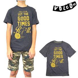 ボルコム キッズ VOLCOM Tシャツ ボーイズ YOUTH GOOD TIMES TEE ジュニア ティーシャツ