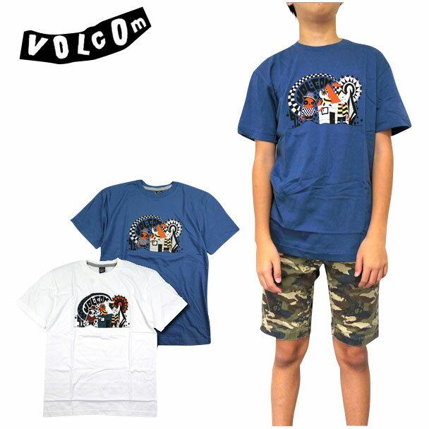 ボルコム キッズ VOLCOM Tシャツ ボーイズ YOUTH HOMELAND TEE ジュニア ティーシャツ