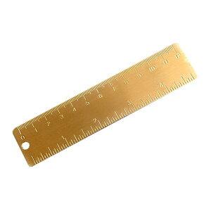 【メール便対応可能】ブラスツールズ シンプルスケール 定規 真鍮 計測 物差し 工具 DIY 組み立て