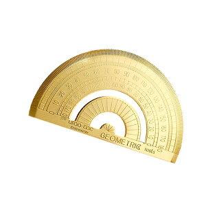 【メール便対応可能】ブラスツールズ 分度器 定規 真鍮 計測 物差し 工具 DIY 組み立て 筆記用具