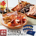 お歳暮 ギフト 北海道の高級珍味 おつまみ 北海道 極上海鮮珍味9種セット【送料無料】【お酒好きの方にオススメ】つま…