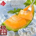 【先行予約】北海道 メロン たっぷり4kg(2〜4玉) 【送料無料】ご自宅向けのお得な規格! メロン 食べ放題が実現!? …
