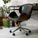 デスクチェア ヴィンテージ 西海岸 ブルックリン 北欧 モダン レザー 木製 おしゃれ おすすめ 椅子 自宅 オフィス キ…