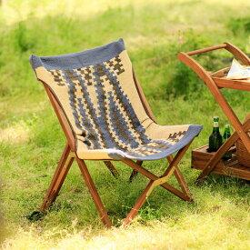 折りたたみ チェアー Bueno ネイティブ柄 フォールディングチェア アウトドア キャンプ 椅子 即日出荷可能