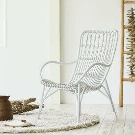 ガーデンソファー ガーデンチェア ラウンジチェア エクステリア 白 ホワイト おしゃれ Woven+ LISBOA chair 送料無料 即日出荷可能