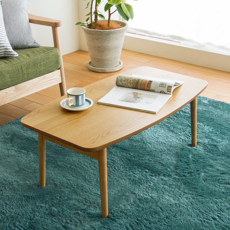 こたつ テーブル 折れ脚 折りたたみ 90cm 北欧 ナチュラル ブラウン 木製 おしゃれ 一人用 一人暮らし コンパクト LUKE 即日出荷可能