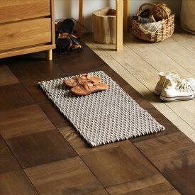 マット 玄関マット MICA マイカ 45×75 長方形 四角形 キッチン 洗面所 平織り インド ラグ おしゃれ おすすめ
