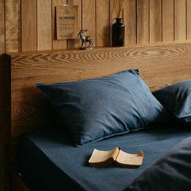 枕カバー ピローケース 43×63 寝具カバー デニム Light denim ヴィンテージ ナチュラル おしゃれ あす楽対応