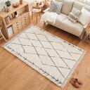 ラグ ラグマット BIANCA DIA 200×250 ベニワレン風 ウィルトン織り 絨毯 カーペット 長方形 リビング 四角形 おしゃれ おすすめ 送料無料