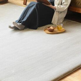 低反発 高反発 2層構造 フランネル ラグマット カーペット Rolland 190×190 四角形 北欧 ナチュラル 正方形 おしゃれ おすすめ 床暖房