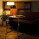 FASMO サイドテーブル 高さ調整 ソファ ベッド ダイニング 北欧 モダン ナチュラル