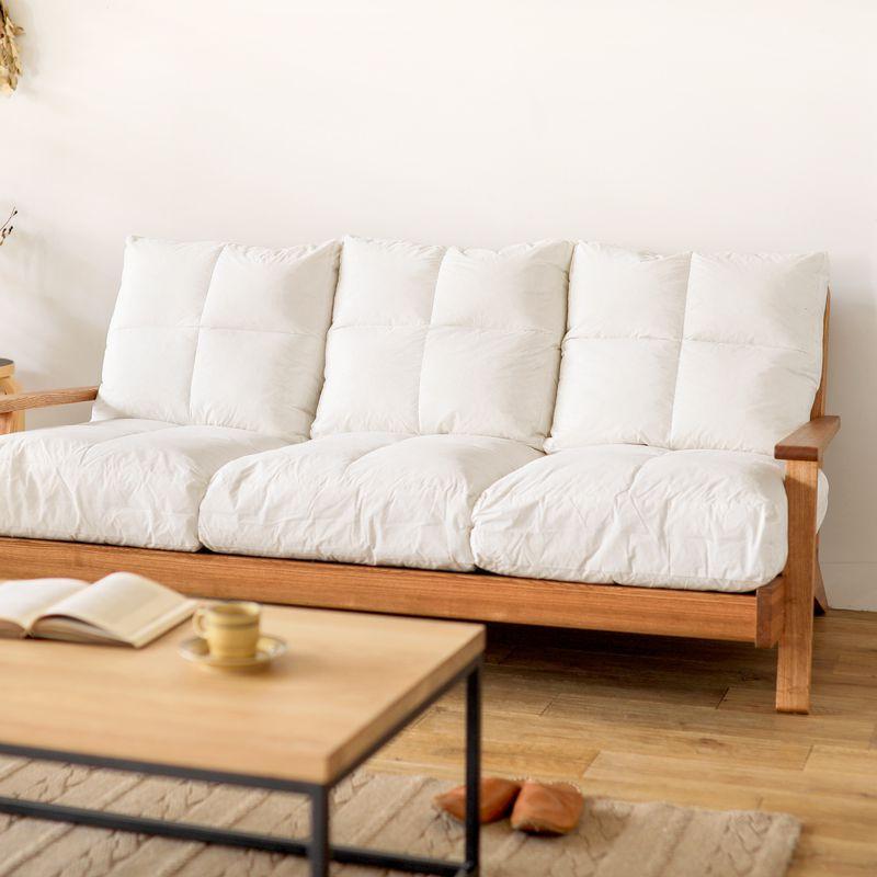 ソファー クッション NOANA 専用 座面 替えクッション 2人掛けソファー用 送料無料 即日出荷可能