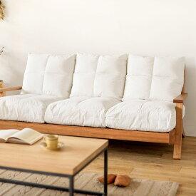 ソファー クッション NOANA 専用 背面 替えクッション 3人掛けソファー用 即日出荷可能