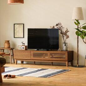 テレビ台 テレビボード LINE 150 北欧 ナチュラル 無垢 木製 40型対応 42型対応 48型対応 おしゃれ 送料無料
