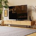 テレビ台 テレビボード WIRY 180 北欧 ナチュラル ヴィンテージ 木製 アイアン 43型対応 50型対応 55型対応 60型対応 65型対応 おしゃれ 送料無料 【開梱・設置付き】