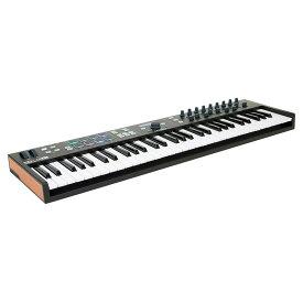 Arturia KEYLAB Essential 61 BK【Black Edition】【61鍵盤】【数量限定生産】