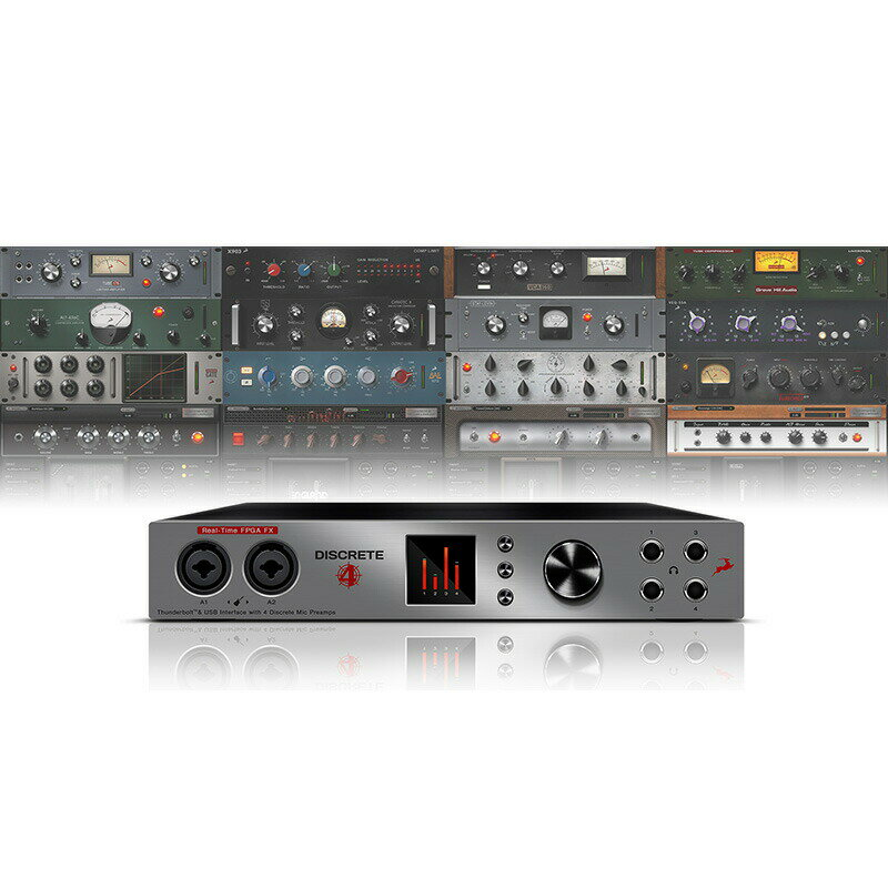 Antelope Audio Discrete 4 (with Basic FX Pack)【p5】