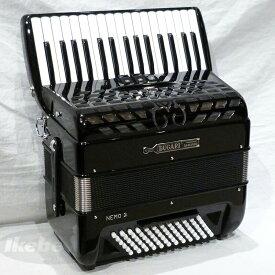 BUGARI NemoII BK (M.L)【小型・フリーベースコンバーター機能搭載・ピアノタイプ・アコーディオン】