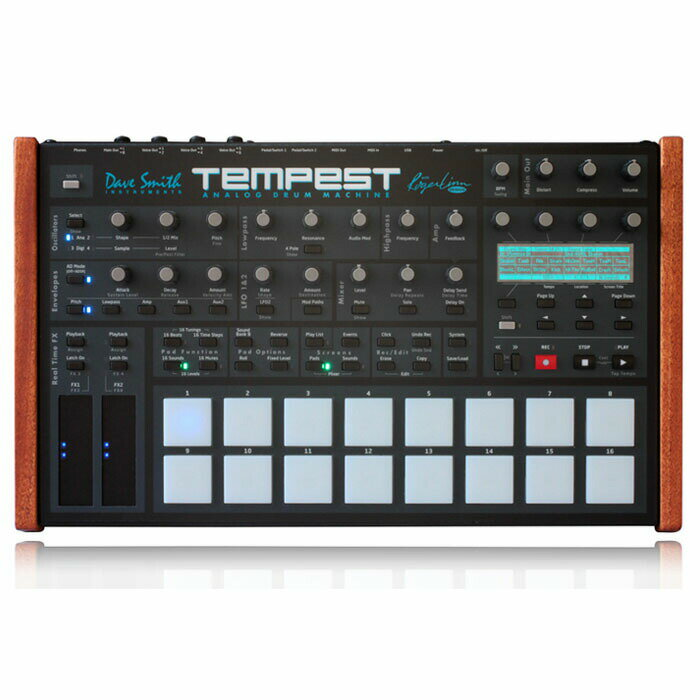 Dave Smith Instruments Tempest【台数限定20%OFF!特別価格】