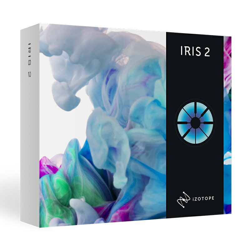 iZotope iris2(オンライン納品専用) ※代金引換、後払いはご利用頂けません。