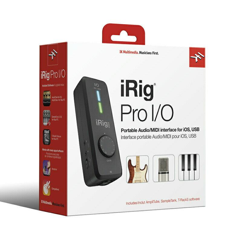 IK MULTIMEDIA iRig Pro I/O【p10】