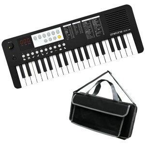 キーボード 電子ピアノ キョーリツOTK-37M BK【ブラック】+汎用バッグセット