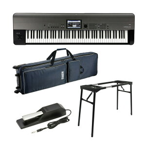 KORG KROME EX-88入門セット【88鍵盤デジタルシンセサイザー】【kbdset】 【Fluid Audio C5/C5W(pair)台数限定・セット購入キャンペーン!】